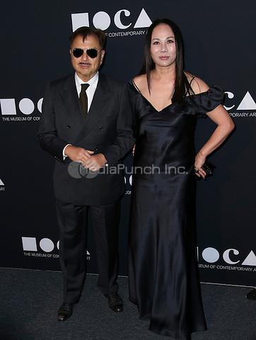 LOS ANGELES, CA - MAY 14: Michael Chow, Eva Chow arrives at the MOCA Gala 2016 at The Geffen Contemporary at MOCA on May 14, 2016 in Los Angeles, California. Credit: Parisa/MediaPunch.