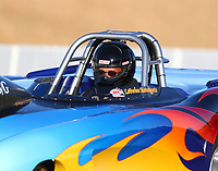 Jul 28, 2017; Sonoma, CA, USA; NHRA super gas driver Larry Bradshaw during qualifying for the Sonoma Nationals at Sonoma Raceway. Mandatory Credit: Mark J. Rebilas-USA TODAY Sports