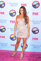 UNIVERSAL CITY, CA - JULY 22: Lea Michele at the 2012 Teen Choice Awards at Gibson Amphitheatre on July 22, 2012 in Universal City, California. &copy; mpi28/MediaPunch Inc. /NortePhoto.com*<br />