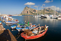 San Vito Lo Capo, Sicily, Italy, May 2007. Fishermen and the salty air of the mediterranean. The rugged nature of sicily harbours beautiful villages and ruins of ancient civilizations. Photo by Frits Meyst/Adventure4ever.com
