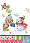 Sharon, CHRISTMAS ANIMALS, WEIHNACHTEN TIERE, NAVIDAD ANIMALES, GBSS, paintings+++++,GBSSC50XFC4,#XA#