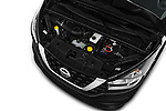 Car Stock 2017 Nissan NV300 Optima 4 Door Cargo Van Engine  high angle detail view