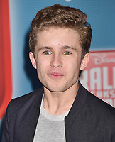 HOLLYWOOD, CA - NOVEMBER 05: Sean Giambrone attends the Premiere Of Disney's 'Ralph Breaks The Internet' at the El Capitan Theatre on November 5, 2018 in Los Angeles, California.<br /> CAP/ROT/TM<br /> &copy;TM/ROT/Capital Pictures