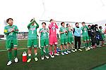 NTV Beleza team group, MARCH 27, 2016 - Football /Soccer : Plenus Nadeshiko League 2016 between Urawa Reds Ladies 1-1 NTV Beleza at Nishigaoka Stadium in Tokyo, Japan. (Photo by Sho Tamura/AFLO SPORT)