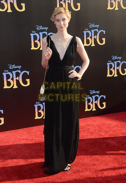 21 June 2016 - Hollywood. Elizabeth Debicki. Arrivals for the Premiere Of Disney's &quot;The BFG&quot; held at El Capitan Theater. <br /> CAP/ADM/BT<br /> &copy;BT/ADM/Capital Pictures