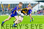 Colm Cooper Dr Crokes in action against Killian Spillane Kenmare District in the Senior County Football Championship final at Fitzgerald Stadium on Sunday.
