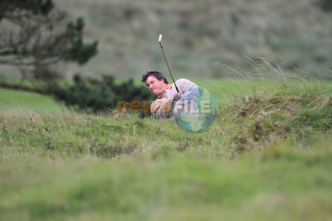 Day one of the Irish PGA championship at Seapoint Golf Club,.David Ryan Cahir Park GC on the 18th..Picture Fran Caffrey/www.golffile.ie.