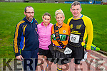 Terrence O'Connor Ann Kelliher, Marilyn OShea and Dillon McCarthy  at the Kerins O'Rahilly's '1916' 10k Run on Sunday