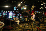 The Weather Channel employees work inside a newsroom at The Weather Channel in Atlanta, Georgia May 16, 2013.