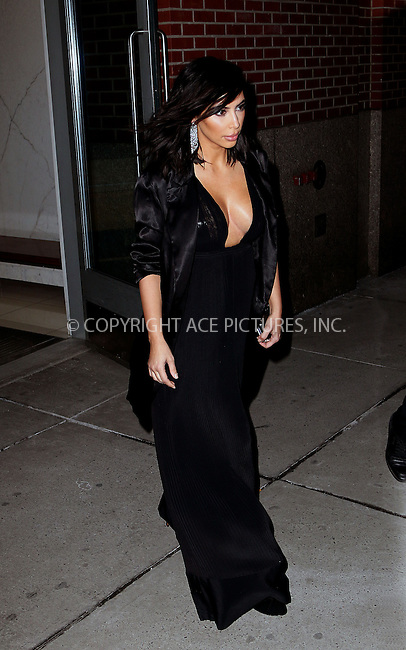 WWW.ACEPIXS.COM<br /> <br /> February 15 2015, New York City<br /> <br /> Kim Kardashian leaves her downtown apartment on February 15 2015 in New York City<br /> <br /> By Line: Zelig Shaul/ACE Pictures<br /> <br /> <br /> ACE Pictures, Inc.<br /> tel: 646 769 0430<br /> Email: info@acepixs.com<br /> www.acepixs.com