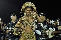 SÃO PAULO, SP, 29 DE JANEIRO DE 2012 - ENSAIO TÉCNICO GAVIÕES DA FIEL - Tatiana Minerato e a madrinha Sabrina Sato foram os destaques do ensaio técnico da Escola de Samba Gaviões da Fiel na praparação para o Carnaval 2012. O ensaio foi realizado na madrugada deste domingo no Sambódromo do Anhembi, zona norte da cidade. FOTO: LEVI BIANCO - NEWS FREE
