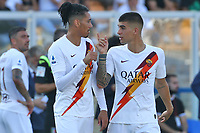 Chris Smalling and Gianluca Mancini of AS Roma <br /> Lecce 29/09/2019 Stadio Via del Mare <br /> Football Serie A 2019/2020 <br /> US Lecce - AS Roma <br /> Photo Gino Mancini / Insidefoto