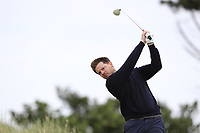 Gary McDermott (Carton House) on the 17th tee during Round 2 of The East of Ireland Amateur Open Championship in Co. Louth Golf Club, Baltray on Sunday 2nd June 2019.<br /> <br /> Picture:  Thos Caffrey / www.golffile.ie<br /> <br /> All photos usage must carry mandatory copyright credit (© Golffile | Thos Caffrey