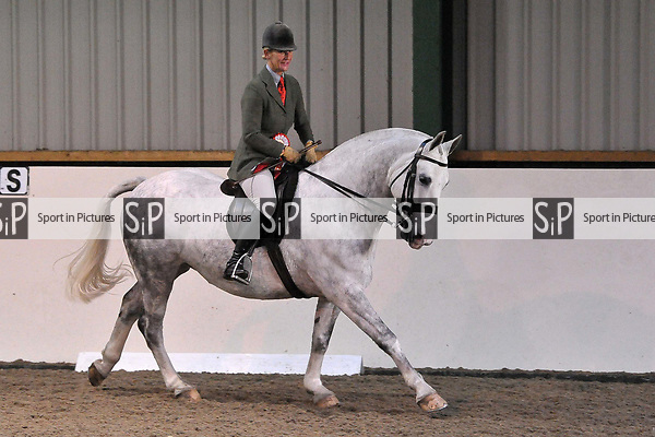 Ridden horse classes. Unaffiliated 'Winter Woolies' Showing. Brook Farm Training Centre. Essex. UK. 28/10/2018. ~ MANDATORY Credit Garry Bowden/Sportinpictures - NO UNAUTHORISED USE - 07837 394578