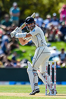 Kane Williamson of the Black Caps during Day 2 of the Second International Cricket Test match, New Zealand V England, Hagley Oval, Christchurch, New Zealand, 31th March 2018.Copyright photo: John Davidson / www.photosport.nz