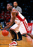 University of Wisconsin guard (24) Freddie Owens during the University of Milwuakee game at the Kohl Center on 12/16/00 in Madison, WI.  The Badgers beat Milwaukee 55-47. (Photo by David Stluka)