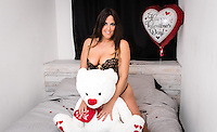 www.acepixs.com<br /> <br /> February 9 2017, Miami Fl<br /> <br /> Italian model and star of French Reality show Secret Story 9 Claudia Romani toom part in a Valentine's Day photoshoot in South Beach on February 9 2017 in Miami, FL<br /> <br /> By Line: Ugo Lora/ACE Pictures<br /> <br /> <br /> ACE Pictures Inc<br /> Tel: 6467670430<br /> Email: info@acepixs.com<br /> www.acepixs.com