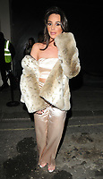 Amber Dowding at the In The Style TOTES OVER IT Valentine's Party, Libertine, Winsley Street, London, England, UK, on Thursday 08 February 2018.<br /> CAP/CAN<br /> &copy;CAN/Capital Pictures