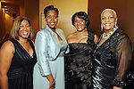 From left: Mary Ford, Dr. Sheri Wiliams, Karen Burist and B.J. Ewing at the Houston Children's Charity's 14th Annual Gala at the Hyatt Regency Saturday Oct. 23, 2010. (Dave Rossman/For the Chronicle)