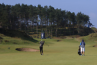 Richard McEvoy (ENG) on the 11th fairway during Round 3 of the Betfred British Masters 2019 at Hillside Golf Club, Southport, Lancashire, England. 11/05/19<br /> <br /> Picture: Thos Caffrey / Golffile<br /> <br /> All photos usage must carry mandatory copyright credit (&copy; Golffile | Thos Caffrey)