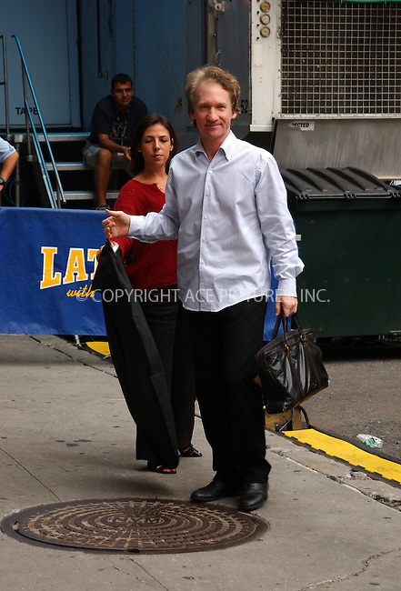 WWW.ACEPIXS.COM . . . . . ....NEW YORK, AUGUST 9, 2005....Bill Maher arrives for an appearance on The Late Show with David Letterman.....Please byline: KRISTIN CALLAHAN - ACE PICTURES.. . . . . . ..Ace Pictures, Inc:  ..Craig Ashby (212) 243-8787..e-mail: picturedesk@acepixs.com..web: http://www.acepixs.com