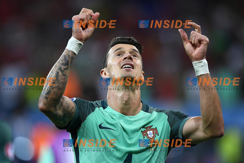Jose' Fonte celebrates Esultanza <br /> Lyon 06-07-2016 Stade de Lyon Football Euro2016 Portugal - Wales / Portogallo - Galles Semi-finals / Semifinali <br /> Foto Matteo Gribaudi  / Image / Insidefoto