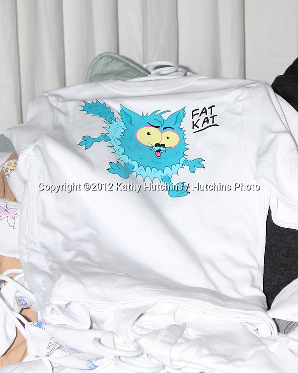 """LOS ANGELES - APR 28:  Clothes from the line at the Launch of """"Baby Gagoo"""" Clothing Line by Vanessa Marcil-Giovinazzo at private home on April 28, 2012 in Malibu, CA"""