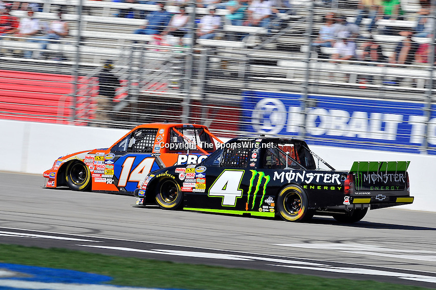 Mar 07, 2009; 2:53:16 PM; Hampton, GA, USA; NASCAR Camping World Truck Series race for the American Commercial Lines 200 at the Atlanta Motor Speedway.  Mandatory Credit: (thesportswire.net)