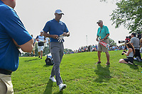 Tiger Woods (USA) heads to 13 during 1st round of the World Golf Championships - Bridgestone Invitational, at the Firestone Country Club, Akron, Ohio. 8/2/2018.<br /> Picture: Golffile | Ken Murray<br /> <br /> <br /> All photo usage must carry mandatory copyright credit (&copy; Golffile | Ken Murray)