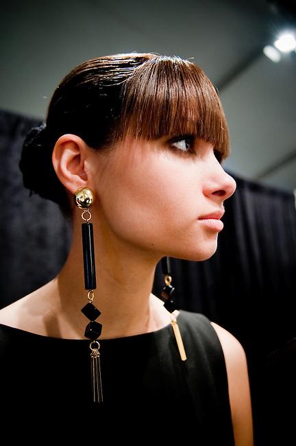 Callula Lillibelle. Mercedes Benz Fashion Week F/W 2011. Lincoln Center. New York City.  <br /> <br /> Client: Cutler Salon