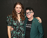 Rebeca Robles and Lea Delaria during the Vineyard Theatre's Emerging Artists Luncheon honoring Charly Evon Simpson with the Paula Vogel Playwriting Award at the National Arts Club on November 25, 2019 in New York City.