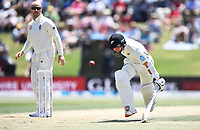 23rd November 2019; Mt Maunganui, New Zealand;  BJ Watling takes a quick single during play on Day 3, 1st Test match between New Zealand versus England. International Cricket at Bay Oval, Mt Maunganui, New Zealand.  - Editorial Use