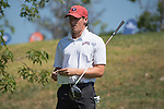 April 13, 2015; Ventura, CA, USA; Loyola Marymount Lions golfer Connor Campbell during the WCC Golf Championships at Saticoy Country Club.
