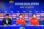 China PR's Press Conference prior to their 2018 FIFA World Cup Russia Final Qualification Round Group A match between Korea Republic vs China PR at Seoul World Cup Stadium on 31 August 2016, in Seoul, South Korea. Photo by Marcio Machado / Power Sport Images