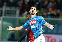 Fabian Ruiz of Napoli celebrates after scoring during  Genoa -   Napoli Stadio Luigi Ferraris, Genoa, Italy; Serie A football 10th November 2018