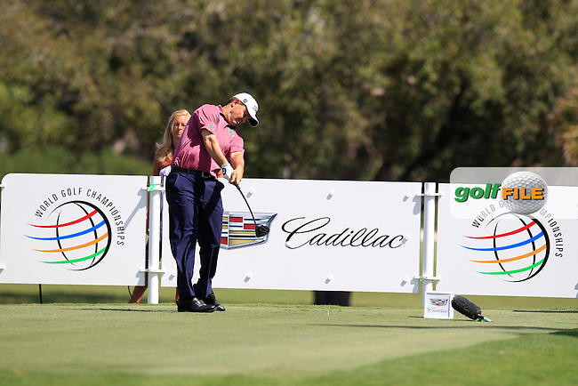 Greg Chalmers (AUS) during the 1st round at the WGC Cadillac Championship, Blue Monster, Trump National Doral, Doral, Florida, USA<br /> Picture: Fran Caffrey / Golffile