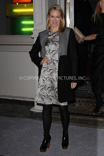 WWW.ACEPIXS.COM . . . . . .January 9, 2012...New York City....Naomi Watts attends the Stella McCartney Soho Store opening on January 9, 2012 in New York City .....Please byline: KRISTIN CALLAHAN - ACEPIXS.COM.. . . . . . ..Ace Pictures, Inc: ..tel: (212) 243 8787 or (646) 769 0430..e-mail: info@acepixs.com..web: http://www.acepixs.com .