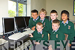 Pupils from Monastry NS Killarney in the new computer room in the new development in the school seated l-r: Adam McMahon, Tadgh Dillon. Standing: Alan Fabiszewski, Ca?el O'Donoghue,  Conor Counihan and Josh Fleming