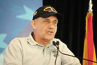 Tempe, Arizona. October 13, 2012 - Former US Surgeon General and Vietnam War veteran Richard Carmona is running for a seat in the US Senate. Carmona is running as democrat and challenging Congressman Jeff Flake. The most recent political polls show Carmona ahead of Flake. Hundreds of Arizona registered voters participated in a political rally where candidates for the US Senate, House of Representatives, state legislature, Maricopa County and other public offices pitched for votes for the upcoming general election. Photo by Eduardo Barraza © 2012