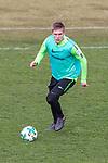 11.03.2018, Trainingsgelaende, Bremen, GER, 1.FBL, Training SV Werder Bremen<br /> <br /> im Bild<br /> Aron J&oacute;hannsson / Johannsson (Werder Bremen #9), <br /> <br /> Foto &copy; nordphoto / Ewert