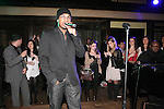 R&B singer Ne-Yo, performs on stage at the 360 Induced Executive Mixer, hosted by Ne-Yo at Millesime NYC, January 19, 2011.