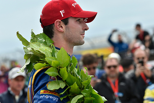 Verizon IndyCar Series<br /> IndyCar Grand Prix at the Glen<br /> Watkins Glen International, Watkins Glen, NY USA<br /> Sunday 3 September 2017<br /> Alexander Rossi, Curb Andretti Herta Autosport with Curb-Agajanian Honda<br /> World Copyright: Scott R LePage<br /> LAT Images
