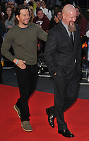 Mark Wahlberg and Mike Williams at the &quot;Deepwater Horizon&quot; European film premiere, The Empire cinema, Leicester Square, London, England, UK, on Monday 26 September 2016.<br /> CAP/CAN<br /> &copy;CAN/Capital Pictures /MediaPunch ***NORTH AND SOUTH AMERICAS ONLY***