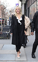 NEW YORK, NY - APRIL 9: Malin Akerman at Build Series promoting the new season of Showtime's Billions in New York. April 09, 2018 <br /> CAP/MPI/RW<br /> &copy;RW/MPI/Capital Pictures