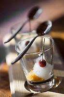 """Europe/France/Rhone-Alpes/73/Savoie/Val-Thorens: Sorbet d'Alizier - Recette de Jean Sulpice du restaurant """"l'Oxalys"""""""