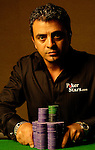 2005 World Series of Poker Main Event Champion, Joe Hachem, poses for a portrait session