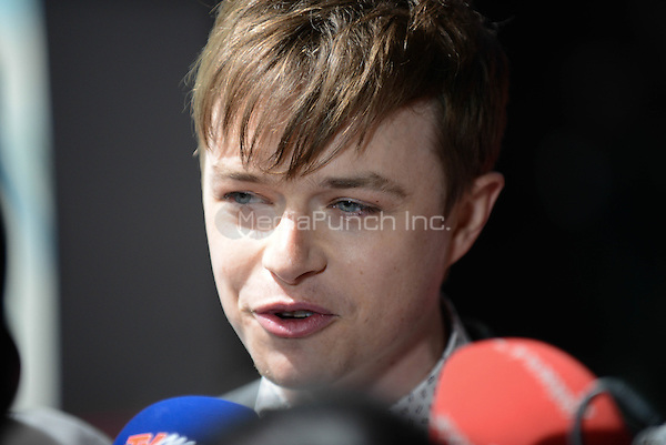 Dane DeHaan attending the &quot;Amazing Spider-Man 2&quot; Premiere at the CineStar IMAX, Sony Center, Potsdamer Platz, Berlin, Germany, 15.4.2014. <br /> Photo by Janne Tervonen/insight media /MediaPunch ***FOR USA ONLY***