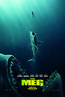 The Meg (2018) <br /> POSTER ART<br /> *Filmstill - Editorial Use Only*<br /> CAP/MFS<br /> Image supplied by Capital Pictures