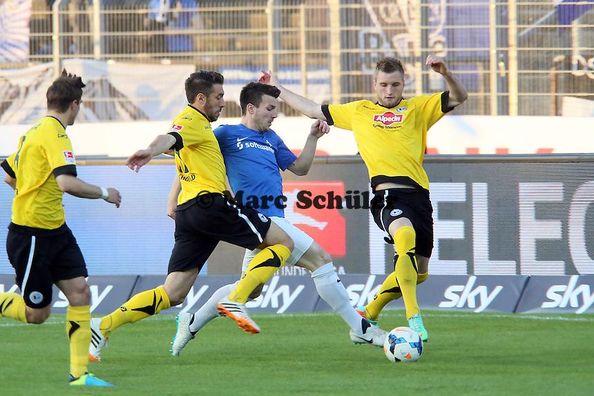 Jerome Gondorf (SV98) - SV Darmstadt 98 vs. Armina Bielefeld, Stadion am Böllenfalltor