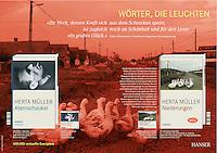 Hanser publishing house<br /> Herta Muller brochure<br /> December 2009, Photographer: Martin Fejer